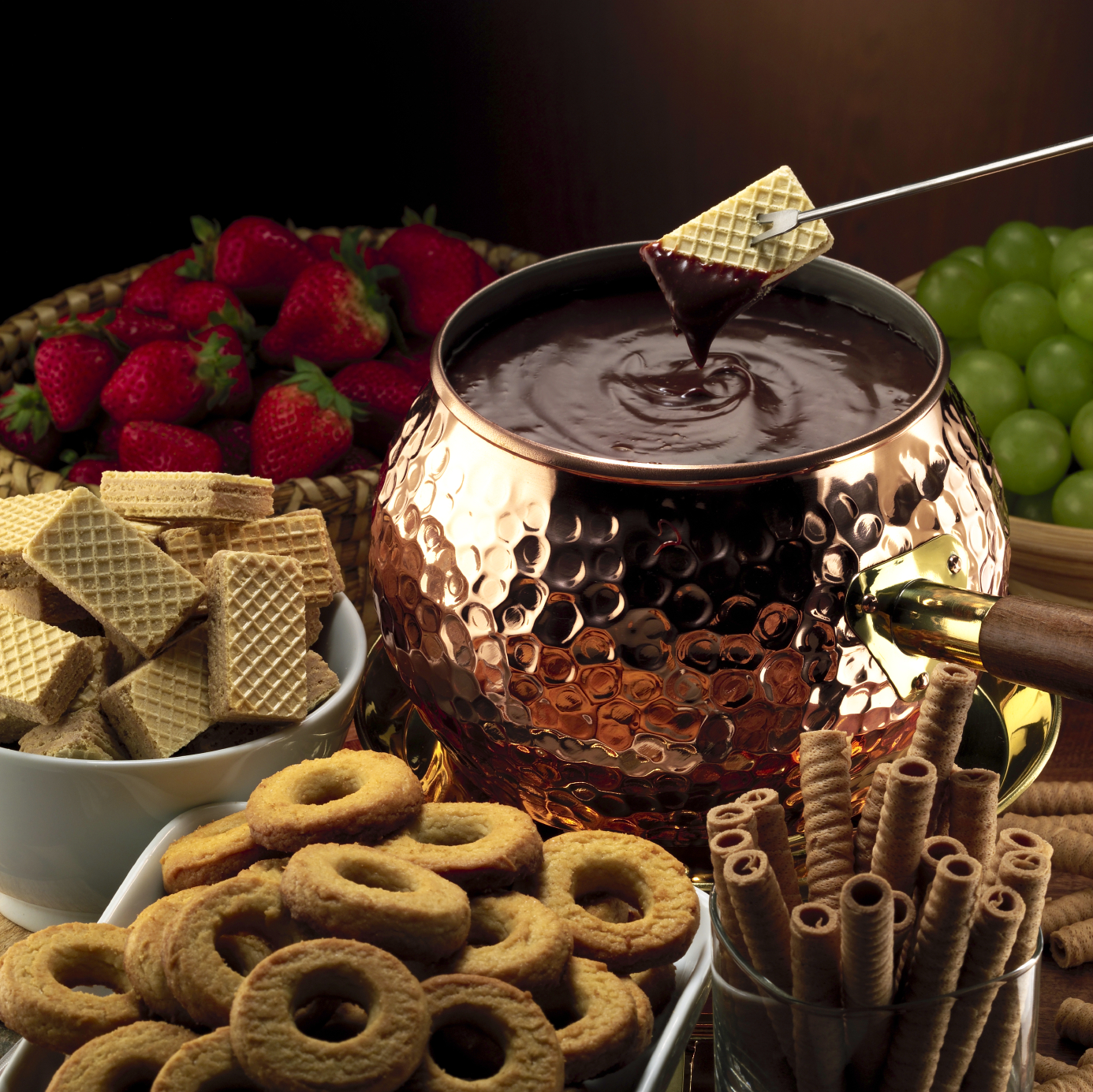 Chocolate Fondue Recipes | Donatella Arpaia