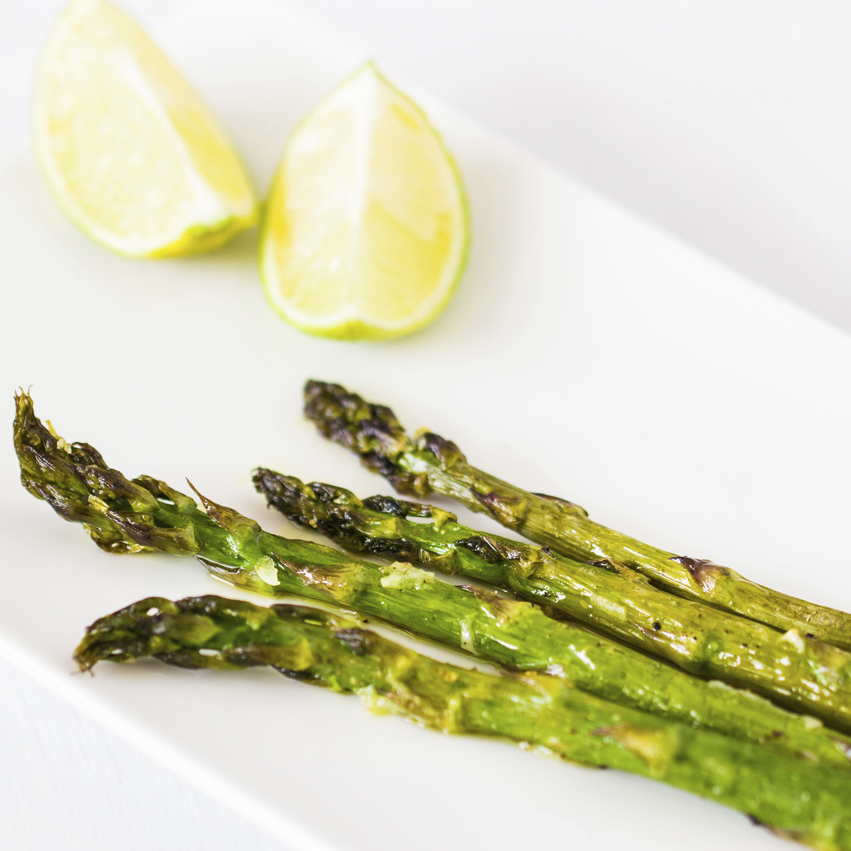 Italian Grilled Asparagus With Lemon Recipe