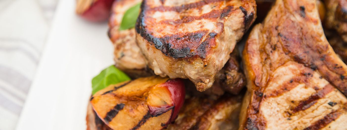 Cinnamon Grilled Pork Chop