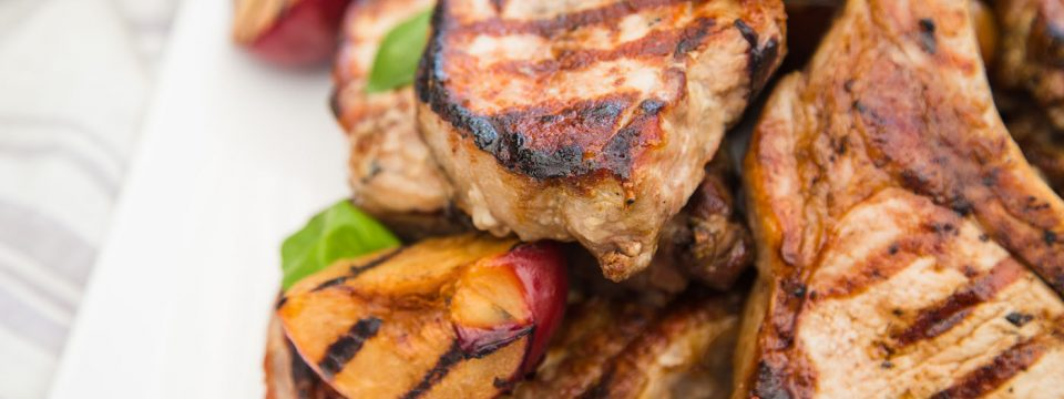 Cinnamon Grilled Pork Chop